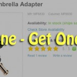 Calumet Swivel Umbrella Adapter – buy 1 get 1 free