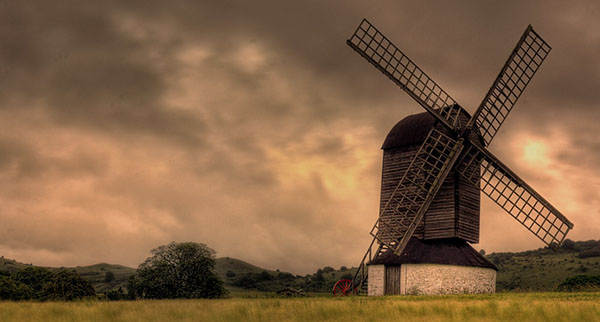 Allan Thomson Pitstone Windmill - HDR