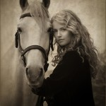 Belen with the Lusitano by Julia Cleaver (open)