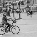 Riding her bike Nick Bennett