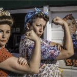 Tea Ladies by Kathy Chantler