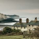 """The Old Coastguard Cottages"" by Tim Gould – Leighton Buzzard PC"