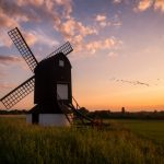 """Sunset at Pitstone Windmill"" by Chenxi Ni"