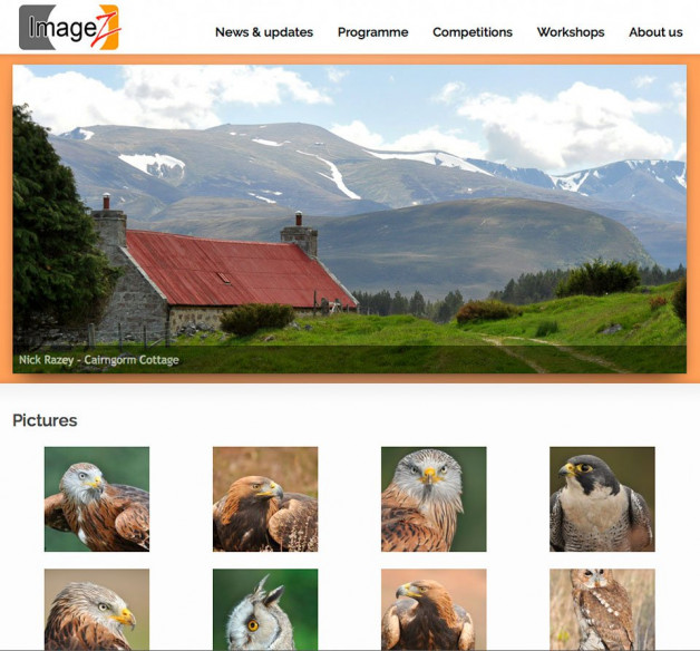 Nick Razey's members gallery page goes live