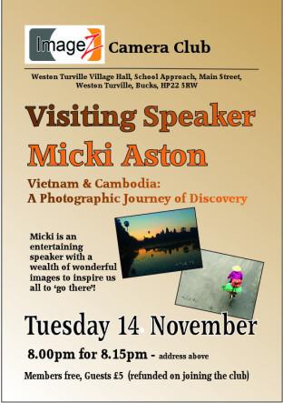An evening with Micki Aston