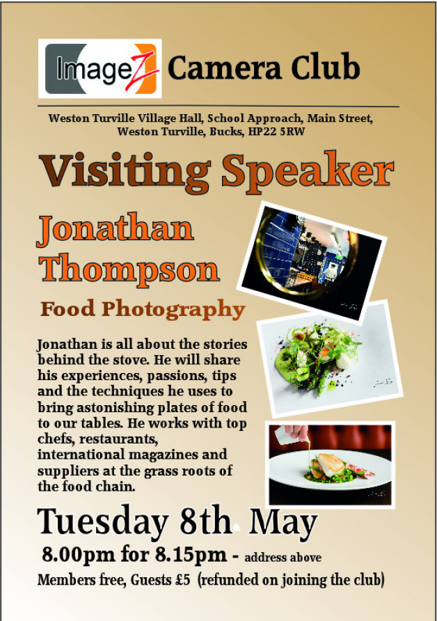 Visiting Speaker: Jonathan Thompson