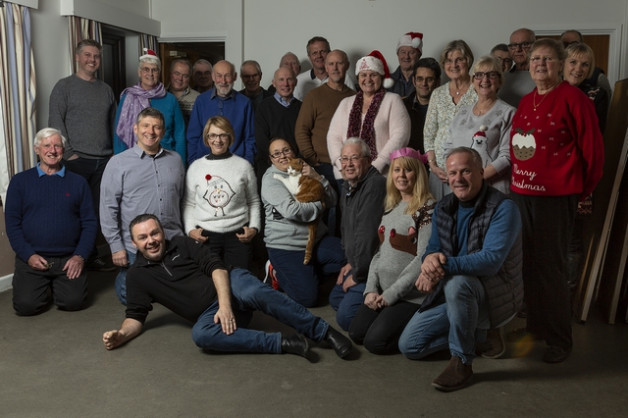 The Club's Christmas Do, Tuesday 18th December 2018