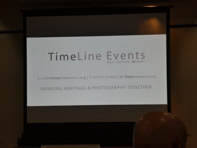 Speaker Neil Cave on Time Line Events, Tuesday 19th February 2019