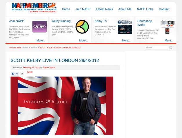 Scott Kelby, Live in London 28/April 2012
