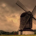 Excellent weather for Chiltern landscape photography at Pitstone Windmill
