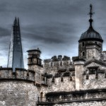 Tower and Shard by Bev Wareing