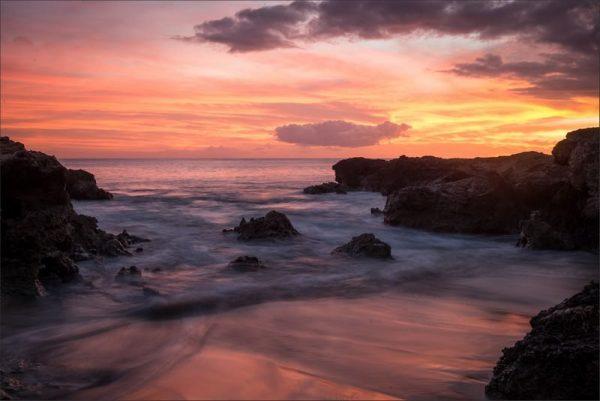 Sundown at Pohakunui Cove - Nick Bennett