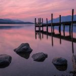 """Ashness jetty on Derwent water"" by Chenxi Ni"