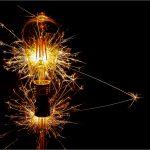 Sparkler Bulb by David Gibbs
