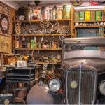 Garage Circa 1940s by David Gibbs