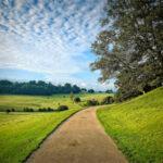A Winding Road under a Mackerel Sky © Derek Green