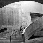 Tate Stairs with Figures © John Timbrell
