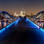 St. Paul's from The Millenium Bridge – Copyright Joe Houghton 2020